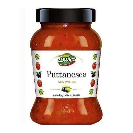 Sos włoski Puttanesca, Pomidory, oliwki, kapary marki Łowicz - zdjęcie nr 1 - Bangla
