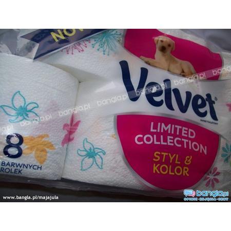 Velvet Limited Collection, Papier Toaletowy marki Kimberley-Clark - zdjęcie nr 1 - Bangla