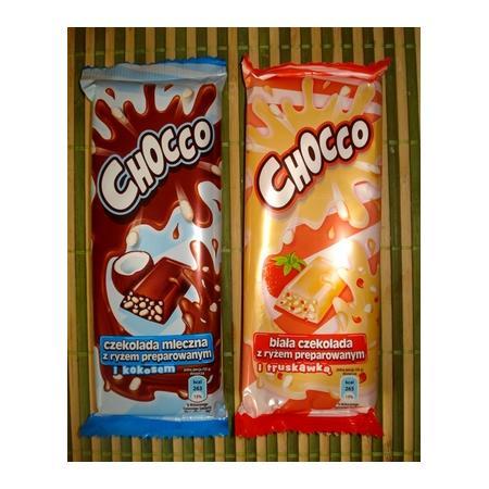 Chocco, czekolada z ryżem marki Biedronka - zdjęcie nr 1 - Bangla