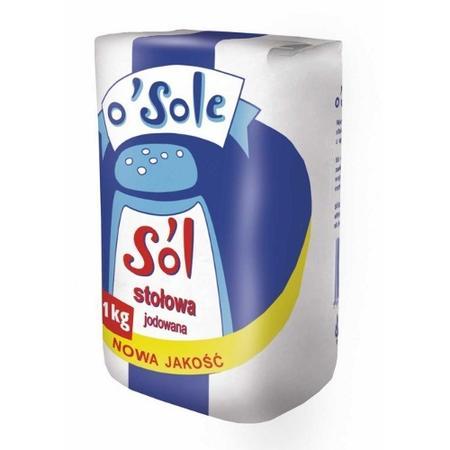 Sól stołowa jodowana marki O'Sole - zdjęcie nr 1 - Bangla
