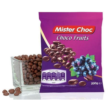 Mister Choc, Choco Fruits, Rodzynki w czekoladzie marki Lidl - zdjęcie nr 1 - Bangla