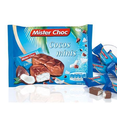 Mister Choc, Mini batony Cocos & Choco Bars lub Baton Cocos & Choco marki Lidl - zdjęcie nr 1 - Bangla