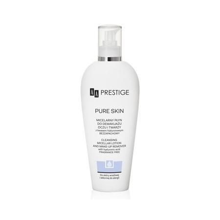 Prestige Pure Skin Micelarny płyn do demakijażu oczu i twarzy z kwasem hialuronowym bezzapachowy marki AA - zdjęcie nr 1 - Bangla