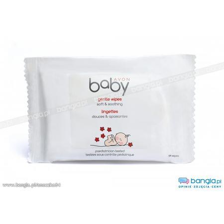 Baby, Gentle Wipes Soft & Soothing, Chusteczki nawilżające marki Avon - zdjęcie nr 1 - Bangla