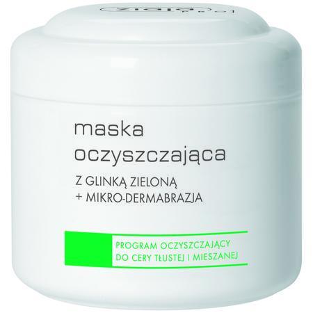 Maska oczyszczająca z glinką zieloną + mikrodermabrazja marki Ziaja - zdjęcie nr 1 - Bangla