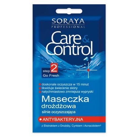Care & Control Antybakteryjna, Maseczka drożdżowa silnie oczyszczająca marki Soraya - zdjęcie nr 1 - Bangla