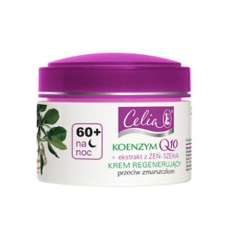 Krem regenerujący na noc 60+ Koenzym Q10 + ekstrakt z żeń-szenia marki Celia - zdjęcie nr 1 - Bangla