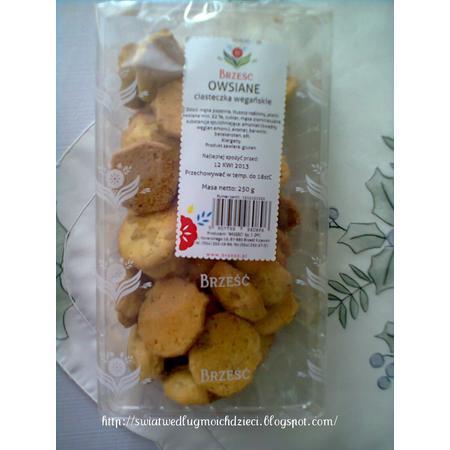 Owsiane ciasteczka wegańskie marki Brześć - zdjęcie nr 1 - Bangla
