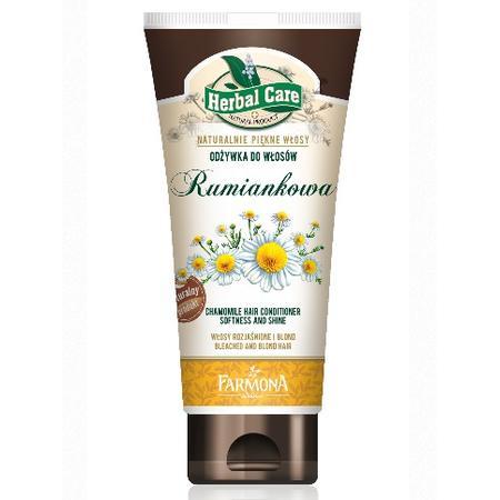 Herbal Care, Rumiankowa odżywka do włosów, do włosów rozjaśnionych i blond, rumianek marki Farmona - zdjęcie nr 1 - Bangla