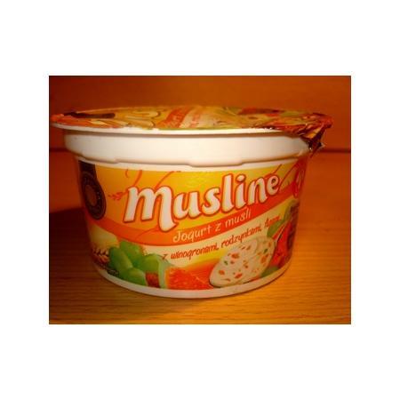 Musline, jogurt z musli, różne smaki marki Biedronka - zdjęcie nr 1 - Bangla