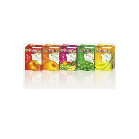 Wosanka, sok w kartoniku, różne smaki marki Wosana - zdjęcie nr 1 - Bangla