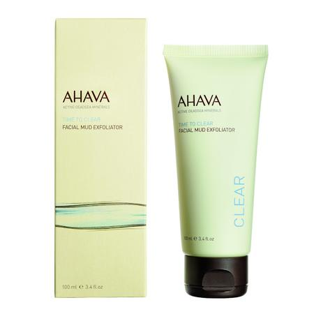 Clear, Facial Mud Exfoliator, Peeling do twarzy z błotem Morza Martwego marki Ahava - zdjęcie nr 1 - Bangla