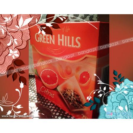 Green Hills Citrus Specialite Tea marki Biedronka - zdjęcie nr 1 - Bangla