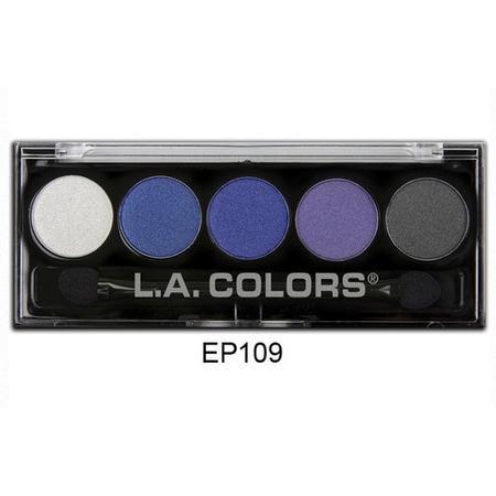 5 Color Metallic Eyeshadow, Paletka 5 metalicznych cieni marki L.A Colors - zdjęcie nr 1 - Bangla