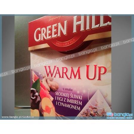 Green Hills Warm up specialite tea, słodka śliwka, figa z imbirem i cynamonem marki Biedronka - zdjęcie nr 1 - Bangla
