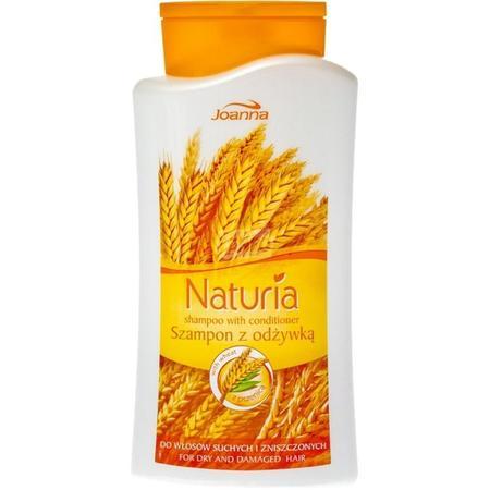Naturia Szampon z odżywką z pszenicą, Do włosów suchych i zniszczonych marki Joanna - zdjęcie nr 1 - Bangla