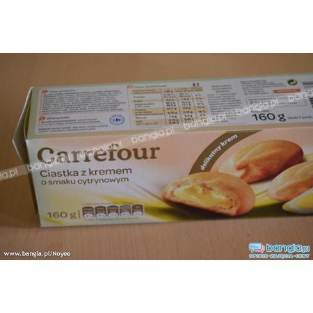 Ciastka z kremem, różne smaki marki Carrefour - zdjęcie nr 1 - Bangla