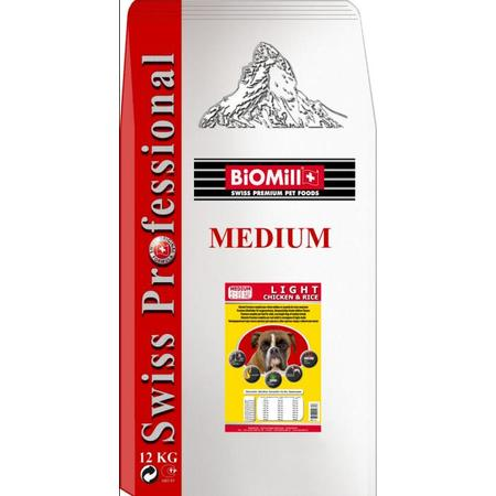 Dog Swiss Professional Medium Light marki Biomill - zdjęcie nr 1 - Bangla