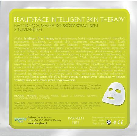 Intelligent Skin Therapy, Łagodząca maska do Skóry Wrażliwej z Rumiankiem marki Beauty Face - zdjęcie nr 1 - Bangla