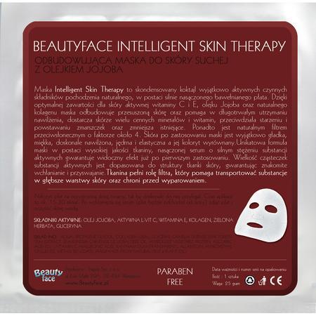 Intelligent Skin Therapy, Odbudowująca maska do skóry suchej z Olejkiem Jojoba marki Beauty Face - zdjęcie nr 1 - Bangla
