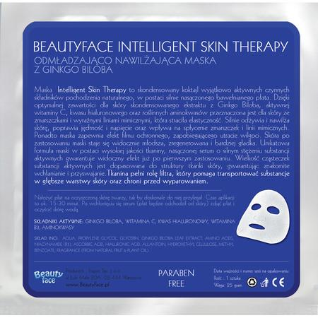 Intelligent Skin Therapy, Odmładzająco-nawilżająca maska z Ginkgo Biloba marki Beauty Face - zdjęcie nr 1 - Bangla