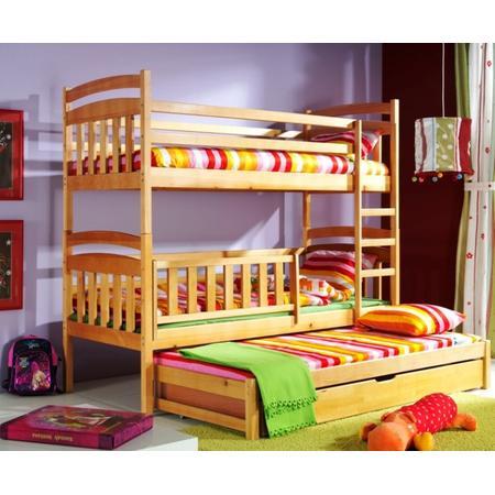 łóżko Piętrowe Dla Dzieci Kacper 3 Osobowe Inter Beds Opinie Testy Cena