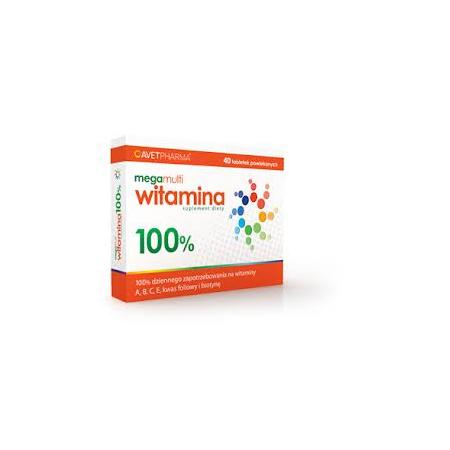 Mega Multi Witamina 100% marki Avet Pharma - zdjęcie nr 1 - Bangla