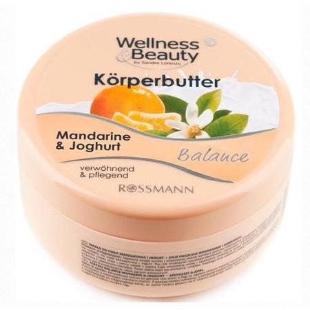 Wellnes & Beauty, Balance Korperbutter, Mandarynka & Jogurt Masło do ciała marki Rossmann - zdjęcie nr 1 - Bangla