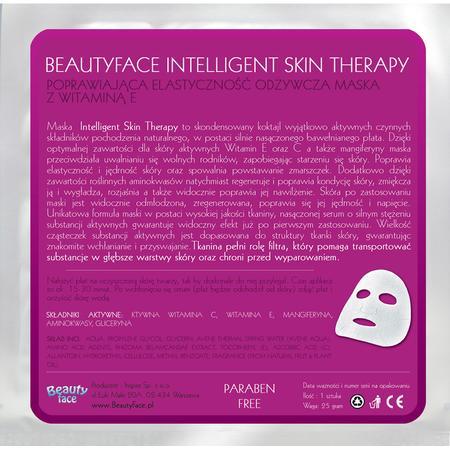 Intelligent Skin Therapy, Poprawiająca Elastyczność Odżywcza Maska z Witaminą E marki Beauty Face - zdjęcie nr 1 - Bangla
