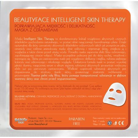 Intelligent Skin Therapy, Poprawiająca Miękkość i Delikatność Skóry Maska z Ceramidami marki Beauty Face - zdjęcie nr 1 - Bangla