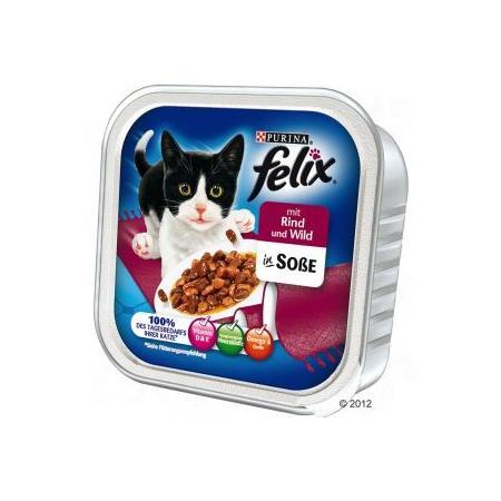 Smakołyki w sosie tacka, różne smaki marki Felix - zdjęcie nr 1 - Bangla