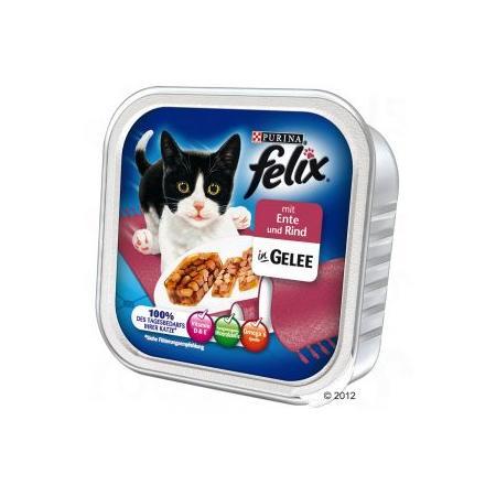 Mięsne kawałki w galarecie tacka, różne smaki marki Felix - zdjęcie nr 1 - Bangla