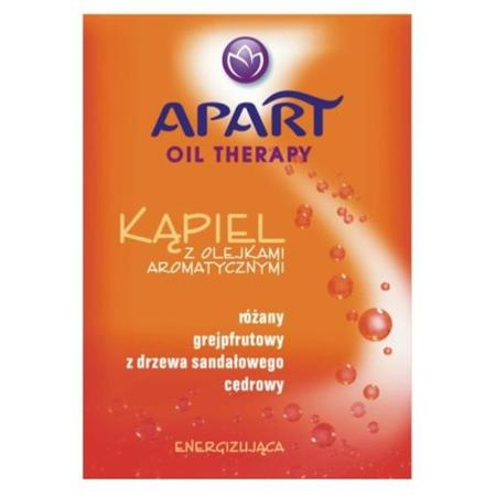 Apart, Oil Therapy, Kąpiel z olejkami aromatycznymi, różne rodzaje - saszetki marki Global Cosmed - zdjęcie nr 1 - Bangla