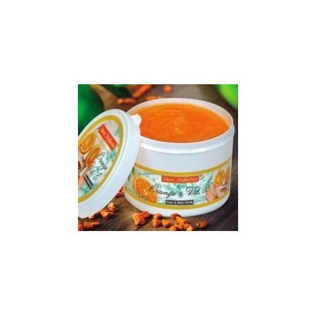 Peeling żelowy do twarzy Orange z wit. E marki Stara Mydlarnia - zdjęcie nr 1 - Bangla