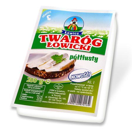Twaróg łowicki, chudy, półtłusty, tłusty marki Łowicz - zdjęcie nr 1 - Bangla