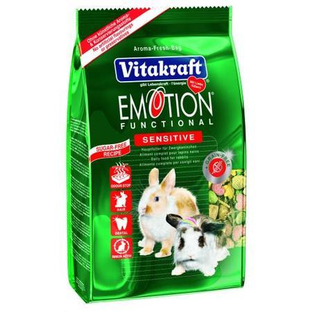 EMOTION SENSITIVE pokarm dla królików marki Vitakraft - zdjęcie nr 1 - Bangla