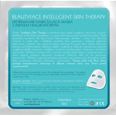 Intelligent Skin Therapy, Ekstremalnie Nawilżająca Maska z Kwasem Hialuronowym marki Beauty Face - zdjęcie nr 1 - Bangla