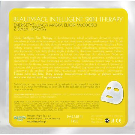 Intelligent Skin Therapy, Energetyzująca Maska Eliksir Młodości z Białą Herbatą marki Beauty Face - zdjęcie nr 1 - Bangla