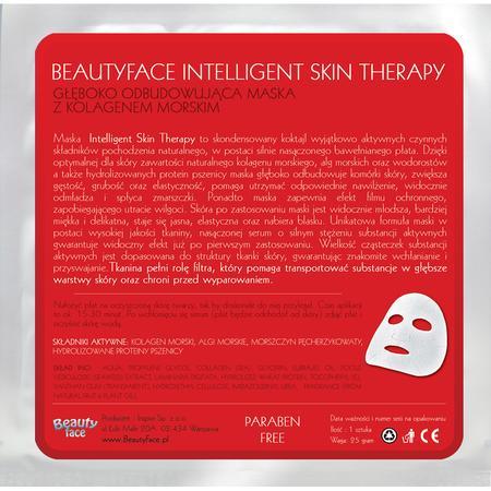 Intelligent Skin Therapy, Głęboko Odbudowująca Maska z Naturalnym Kolagenem Morskim marki Beauty Face - zdjęcie nr 1 - Bangla