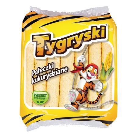 Tygryski - pałeczki kukurydziane marki TBM Snacks - zdjęcie nr 1 - Bangla
