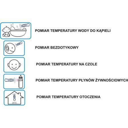 Termometr bezdotykowy Kardio-Test KT-40 marki Tech-Med - zdjęcie nr 1 - Bangla