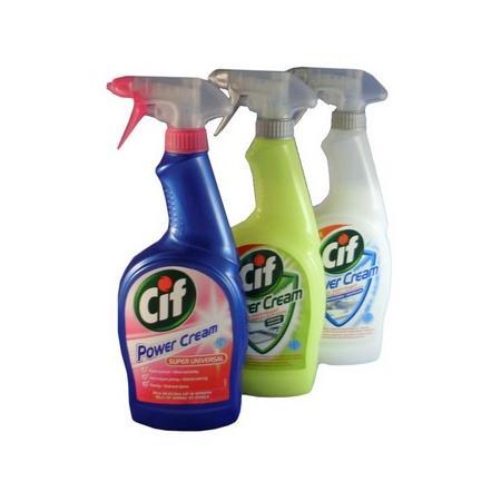 Cif Power Cream, Mleczko w Sprayu - różne rodzaje marki Unilever - zdjęcie nr 1 - Bangla