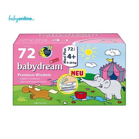 Rossmann, Babydream, Pieluszki Premium Maxi Plus marki Rossmann - zdjęcie nr 1 - Bangla
