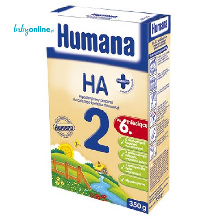 Humana, Hipoalergiczne mleko następne po 6 miesiącu HA 2 Premium marki Humana - zdjęcie nr 1 - Bangla