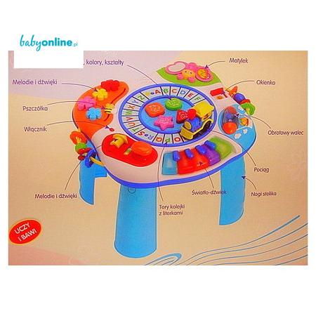 Smily Play, Muzyczny stolik edukacyjny  marki Smily Play - zdjęcie nr 1 - Bangla