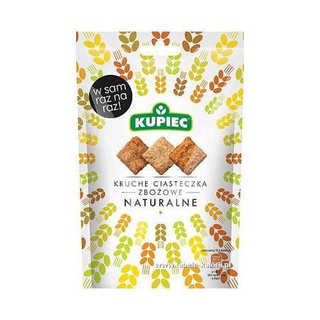 Kruche ciasteczka zbożowe, naturalne marki Kupiec - zdjęcie nr 1 - Bangla