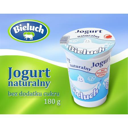 Jogurt naturalny marki Bieluch - Spółdzielnia Mleczarska w Chełmie - zdjęcie nr 1 - Bangla
