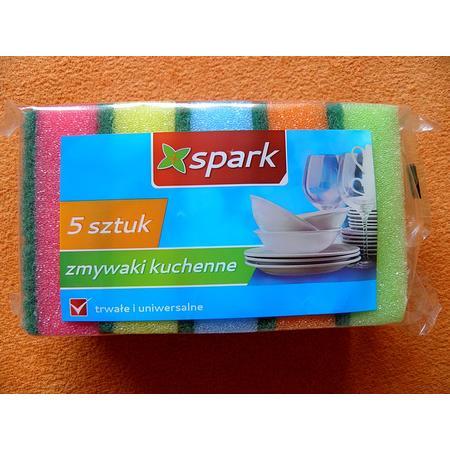 Spark, Zmywaki kuchenne marki Biedronka - zdjęcie nr 1 - Bangla