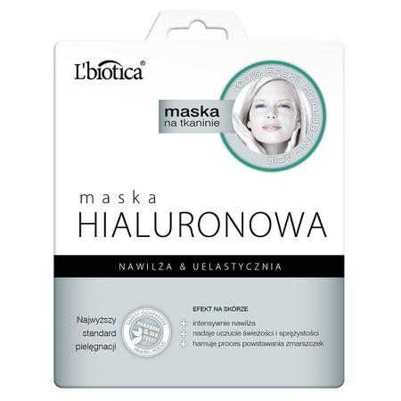 Maska Hialuronowa, maska na tkaninie marki L'biotica - zdjęcie nr 1 - Bangla