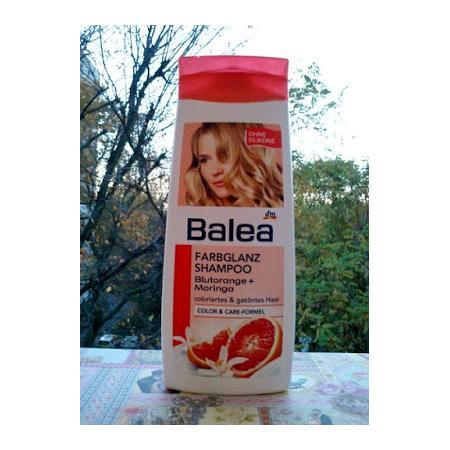 Farbglanz Shampoo, Blutorange + Moringa, Szampon do włosów farbowanych marki Balea - zdjęcie nr 1 - Bangla